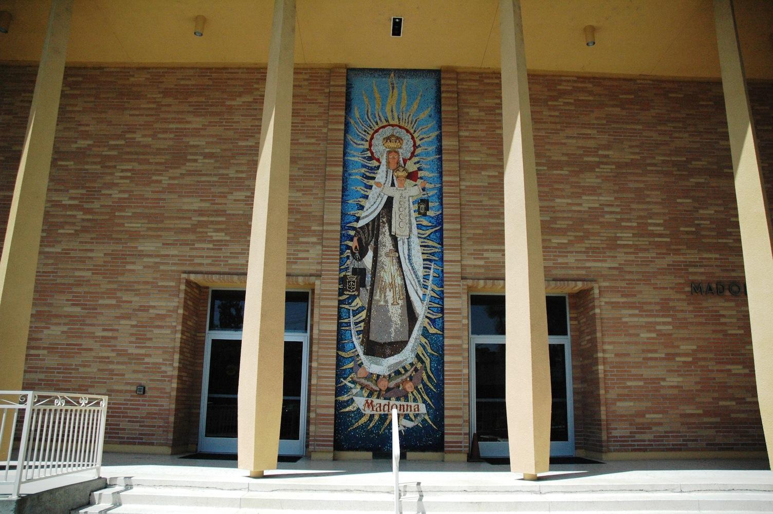 Madonna Hall Exterior