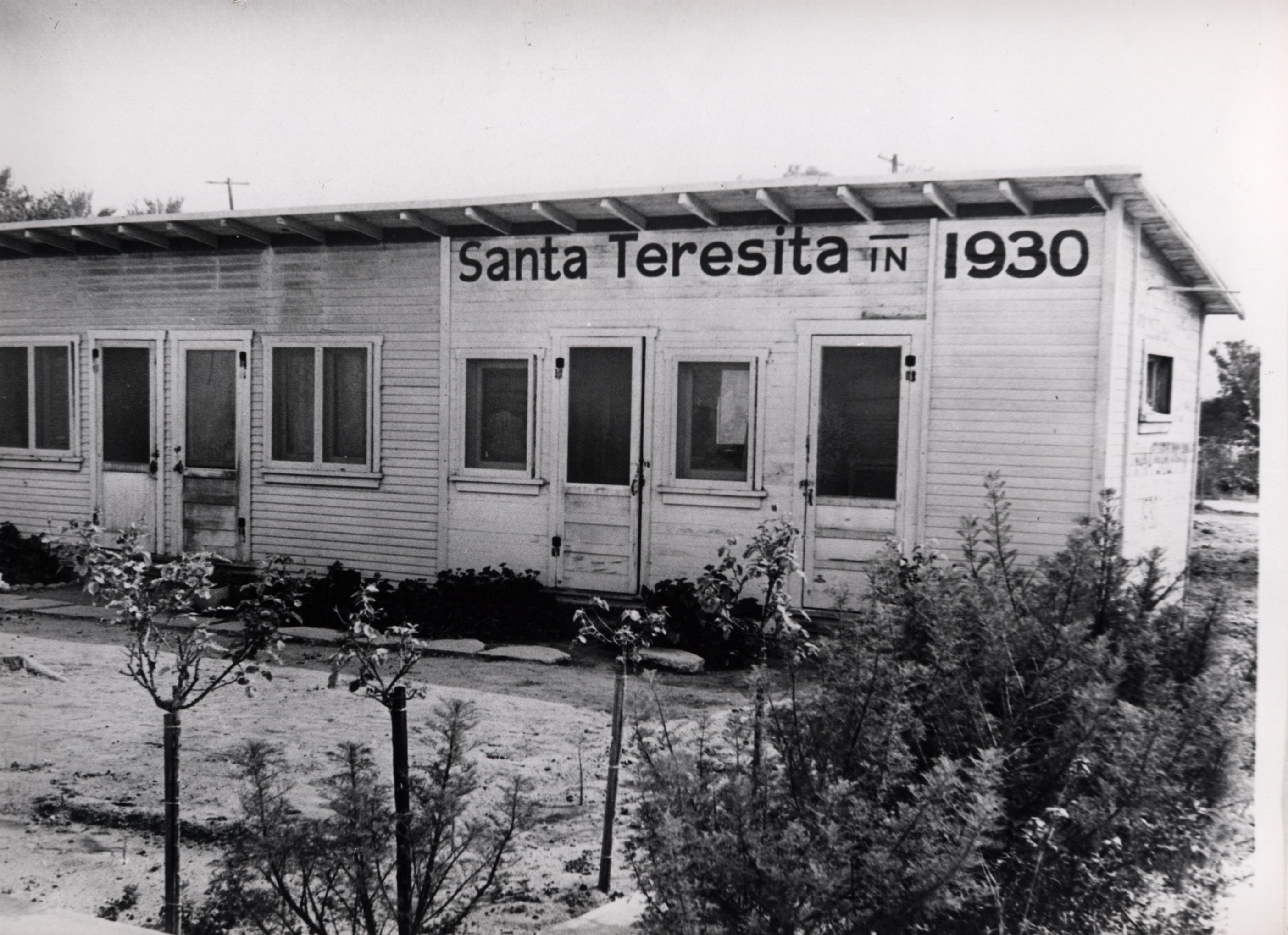 1930Santa Teresita First Sign