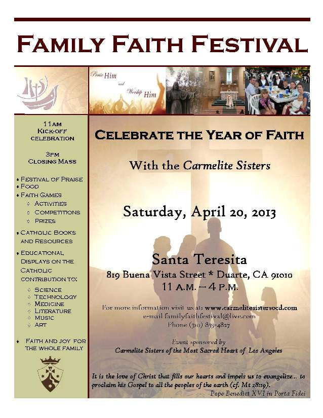 Family Faith Festival | April 20