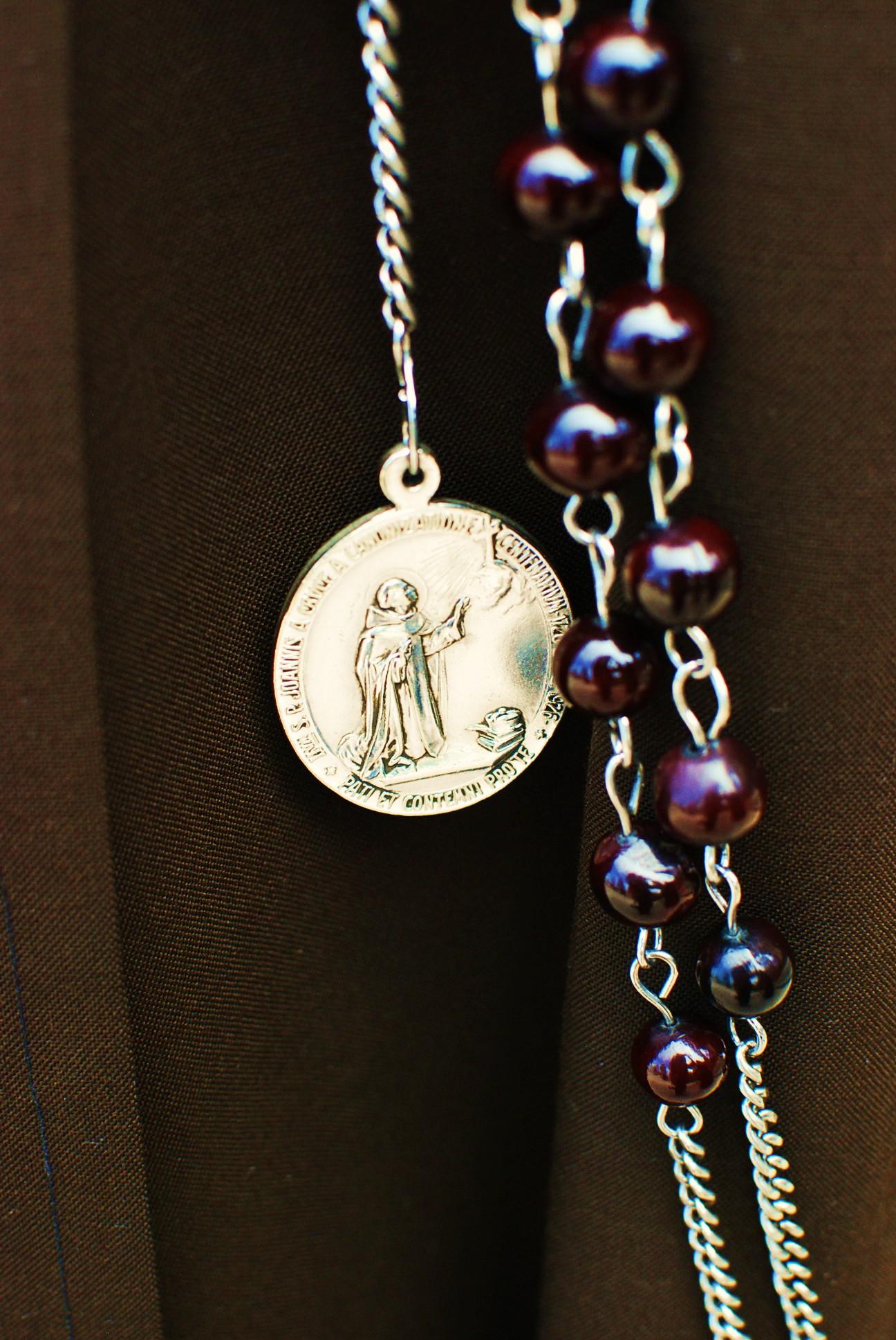 Rosary Medal
